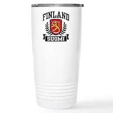 Finland Suomi Travel Mug