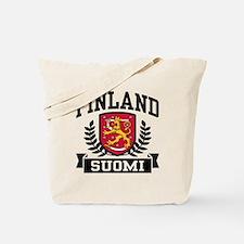 Finland Suomi Tote Bag