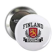 """Finland Suomi 2.25"""" Button"""