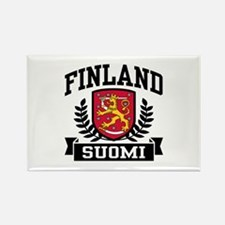 Finland Suomi Rectangle Magnet