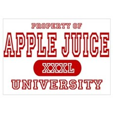 Apple Juice University Poster