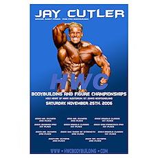 "2006 HWC Jay Cutler 11x17"" Poster"
