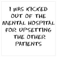 Mental Hospital Poster