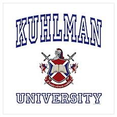 KUHLMAN University Poster