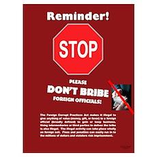 FCPA Alert Poster