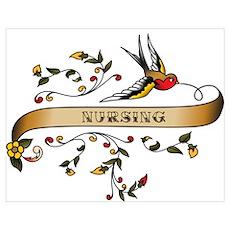 Nursing Scroll Poster