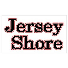 Jersey Shore Red Canvas Art