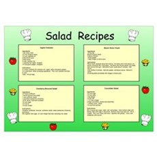 Salad Recipes I Poster