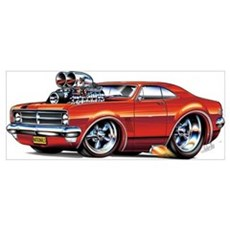 HK Holden Monaro Products Poster