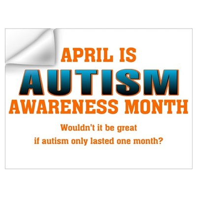 Autism Awareness Month Wall Decal