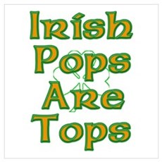 Irish Pops are Tops Poster
