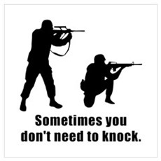Don't Need To Knock Poster