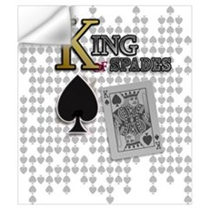King of Spades Poker Design Wall Decal