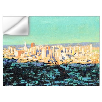 San Francisco Picture Wall Decal