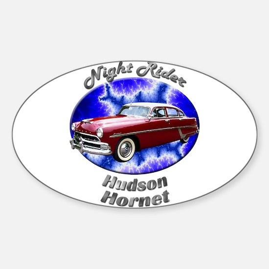 Hudson Hornet Sticker (Oval 10 pk)