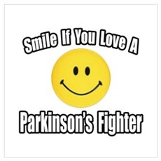 """""""Love a Parkinson's Fighter"""" Poster"""