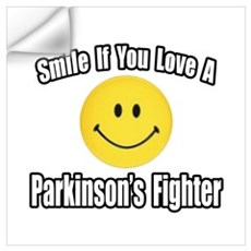 """Love a Parkinson's Fighter"" Wall Decal"