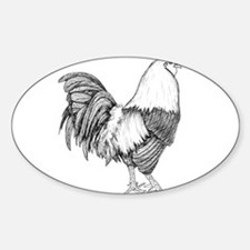 Rooster Drawing Decal