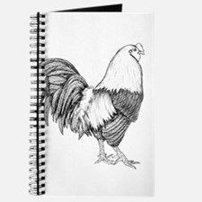 Rooster Drawing Journal