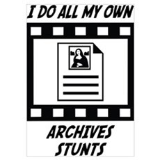Archives Stunts Poster