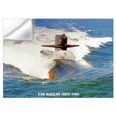 USS DALLAS Wall Decal