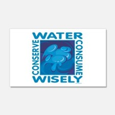 Water Conservation 22x14 Wall Peel