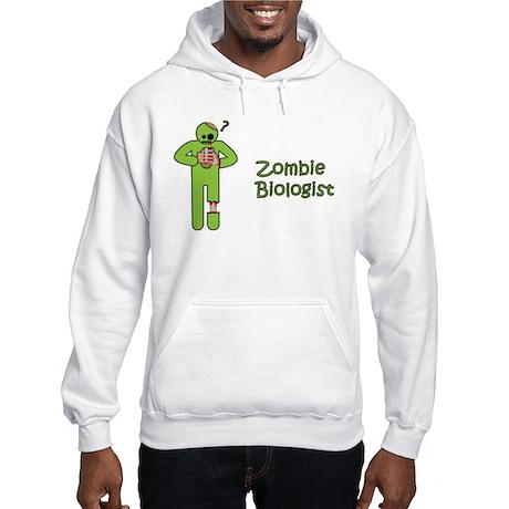 Zombie Biologist Hooded Sweatshirt