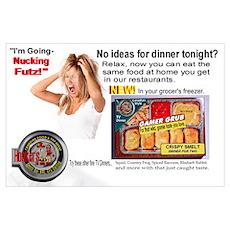 Honker's Canadian Frozen Dinner Poster