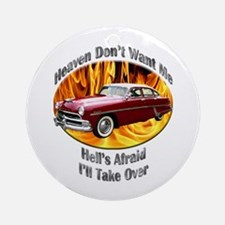 Hudson Hornet Ornament (Round)