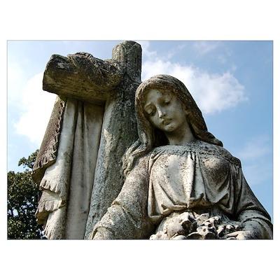 Laurel Grove Cemetery (Savann Poster