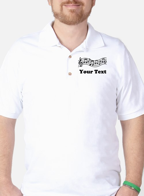 Music Staff Personalized T-Shirt