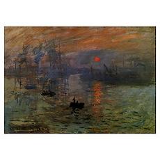 Monet Impression, Sunrise Poster