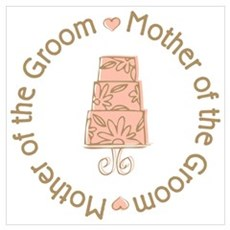 Mother of the Groom Cake Framed Print