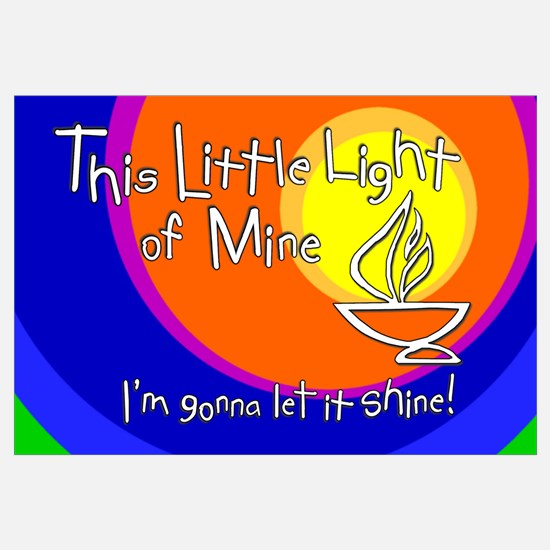 """This Little Light of Mine"" Print - 11x17"