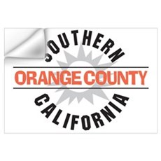 Orange County California Wall Decal