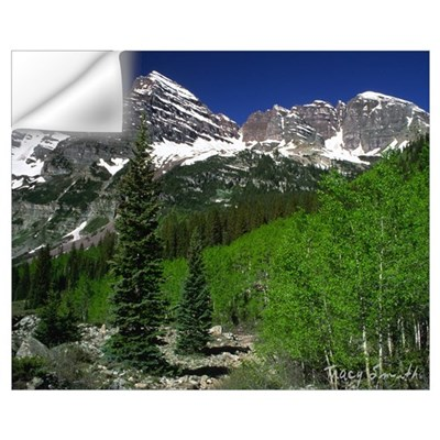 Maroon Bells Wall Decal
