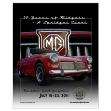 Official Midget 50th Anniversary ! Canvas Art