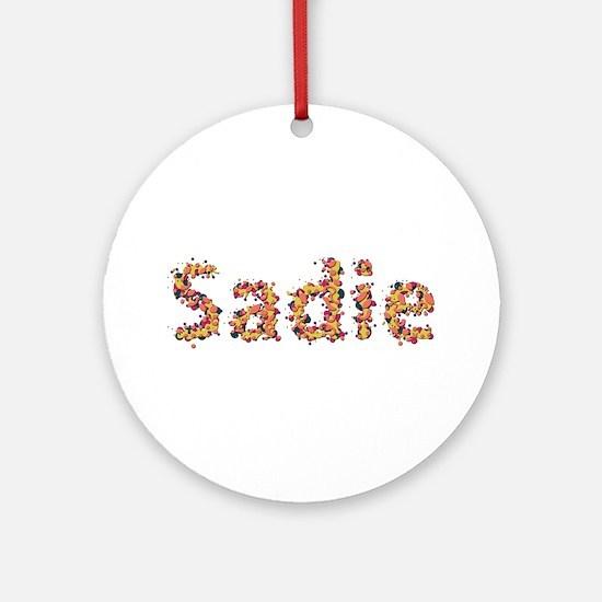 Sadie Fiesta Round Ornament