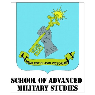 DUI - School of Advanced Military Studies with Tex Framed Print