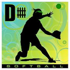 2011 Softball 12 Poster