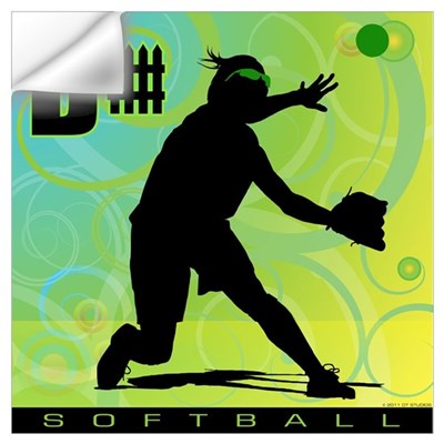 2011 Softball 12 Wall Decal