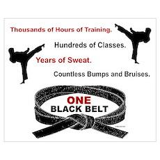 ONE Black Belt Poster