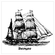 Barque Poster