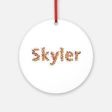 Skyler Fiesta Round Ornament