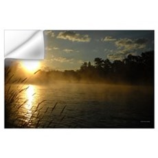 Mississippi River Fog Wall Decal