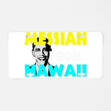 Obama 2012 b Aluminum License Plate