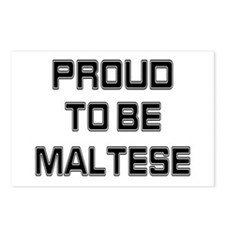 Proud to be Maltese Postcards (Package of 8)