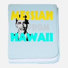 Obama 2012 b baby blanket