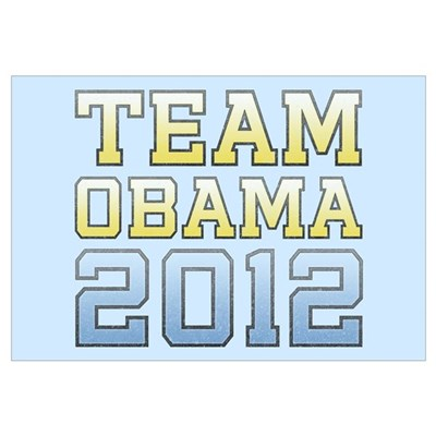 Team Obama 2012 Canvas Art