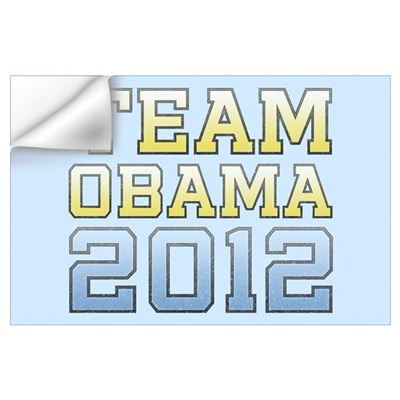 Team Obama 2012 Wall Decal
